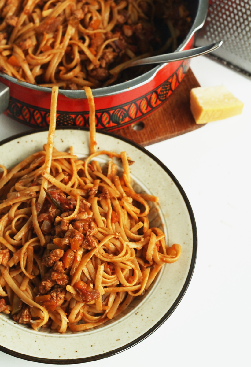 Chicken-Bolognese